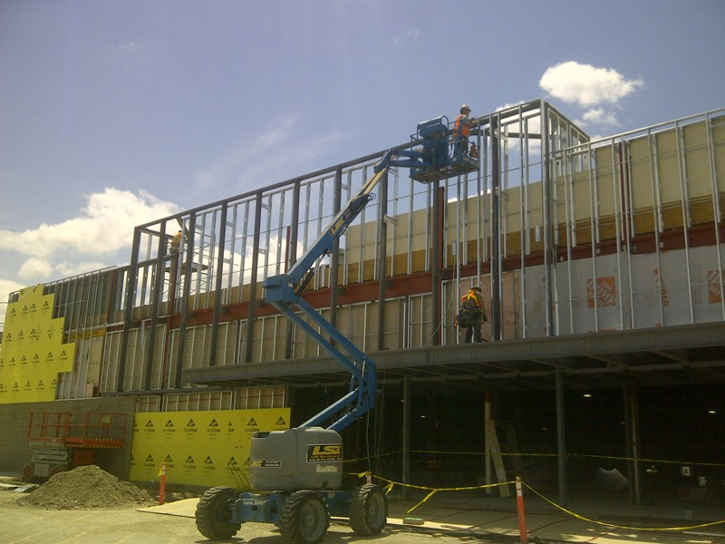 Structural Steel Stud Framing Cd Drywall Amp Acoustics